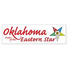 Oklahoma Eastern Star Bumper Bumper Sticker