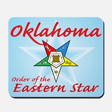 Oklahoma Eastern Star Mousepad
