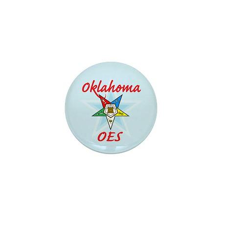 Oklahoma Eastern Star Mini Button (100 pack)