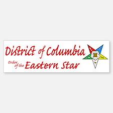 District of Columbia Eastern Bumper Bumper Bumper Sticker