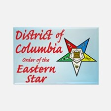 District of Columbia Eastern Rectangle Magnet
