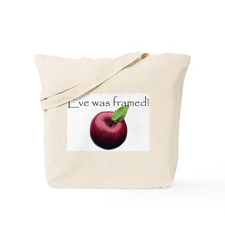 Eve Was Framed Tote Bag
