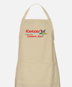 Kansas Eastern Star BBQ Apron