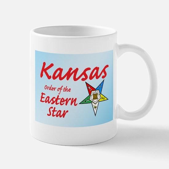 Kansas Eastern Star Mug