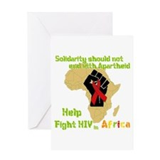 Fight HIV Africa Greeting Card