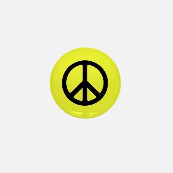 Peace Symbol Mini Button