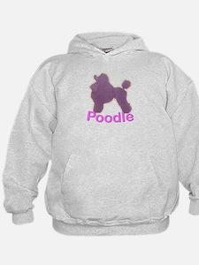 Purple Poodle Hoodie