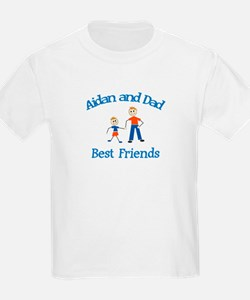 Aidan and Dad - Best Friends T-Shirt