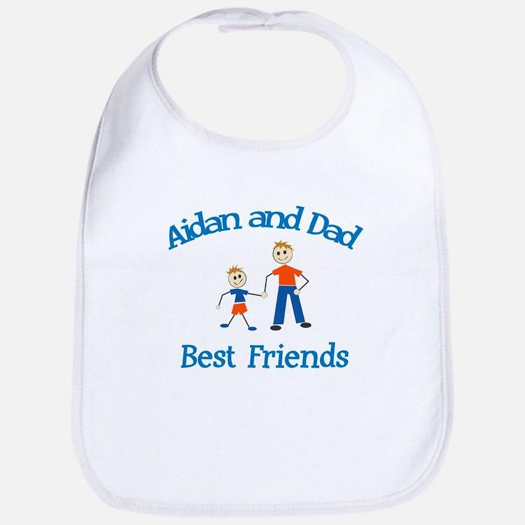 Aidan and Dad - Best Friends Bib