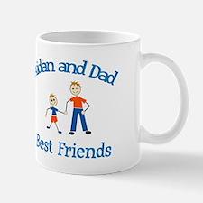 Aidan and Dad - Best Friends Mug