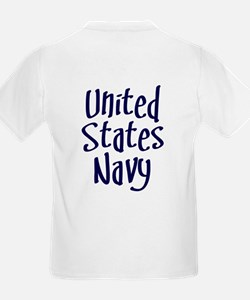 Daddy's on a Navy Ship T-Shirt