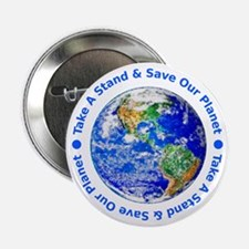 "Save Our Planet! 2.25"" Button"