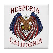 HESPERIA EAGLE Tile Coaster