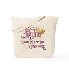 Obeyed Tote Bag