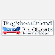 Bark Obama dog's best friend bumper