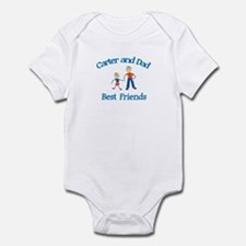 Erin and Dad - Best Friends Infant Bodysuit