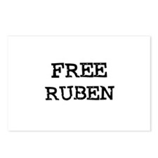 Free Ruben Postcards (Package of 8)