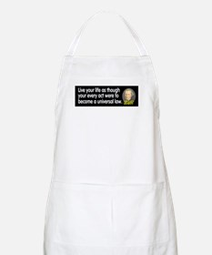 Kant: Live your life as thoug BBQ Apron