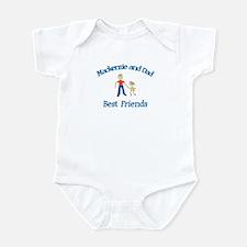 Mackenzie and Dad - Best Frie Infant Bodysuit