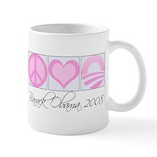 Unique Pink obama Mug