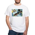 British Bombers White T-Shirt
