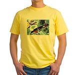 British Bombers Yellow T-Shirt