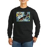 British Bombers Long Sleeve Dark T-Shirt