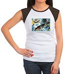 British Bombers Women's Cap Sleeve T-Shirt