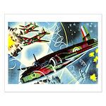British Bombers Small Poster