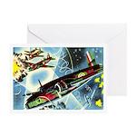 British Bombers Greeting Card
