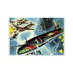 British Bombers Rectangle Magnet