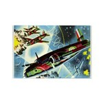British Bombers Rectangle Magnet (10 pack)