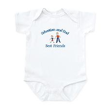Sophie and Dad - Best Friends Infant Bodysuit