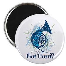 Got Horn Grunge Magnet