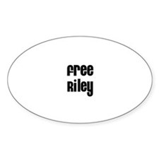 Free Riley Oval Decal