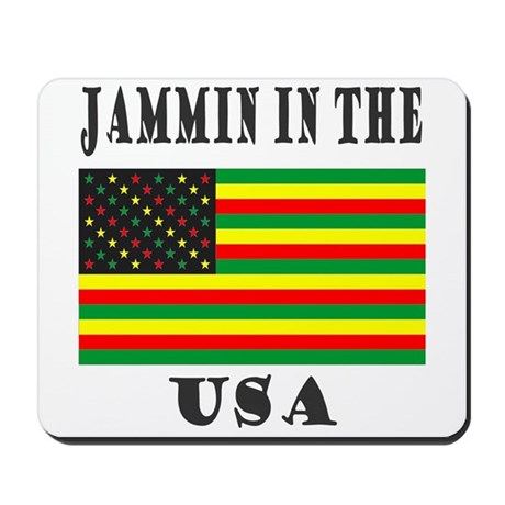 'Jammin in the USA' Mousepad