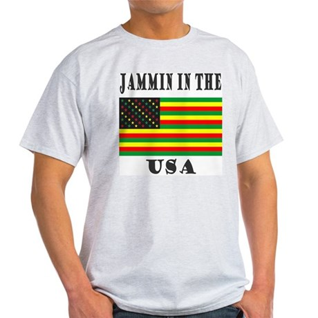 'Jammin in the USA' Light T-Shirt