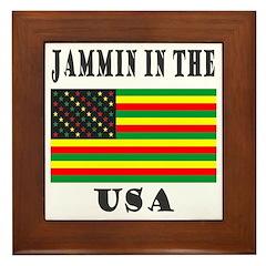 'Jammin in the USA' Framed Tile