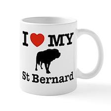 I love my St Bernard Mug