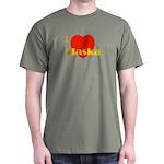 I Love Alaska! Dark T-Shirt