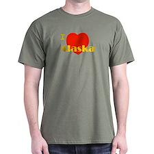 I Love Alaska! T-Shirt