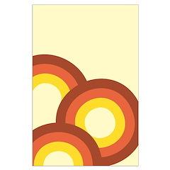 Warm Vintage Rainbow Posters