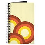 Warm Vintage Rainbow Journal