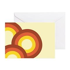 Warm Vintage Rainbow Greeting Cards (Pk of 20)