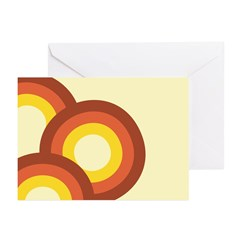 Warm Vintage Rainbow Greeting Cards (Pk of 20)