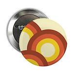 """Warm Vintage Rainbow 2.25"""" Button (10 pack)"""