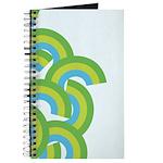 Mellow Blue Retro Journal