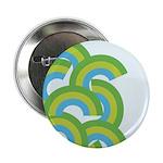 """Mellow Blue Retro 2.25"""" Button (100 pack)"""