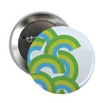 """Mellow Blue Retro 2.25"""" Button (10 pack)"""