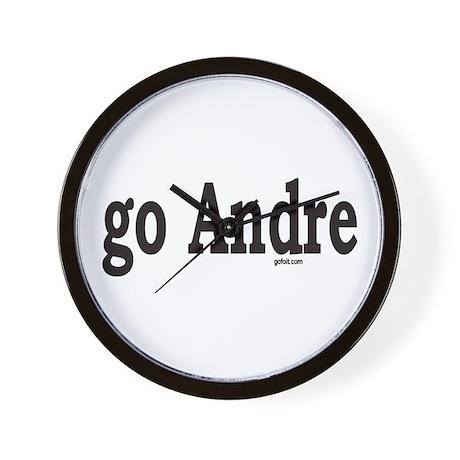 go Andre Wall Clock